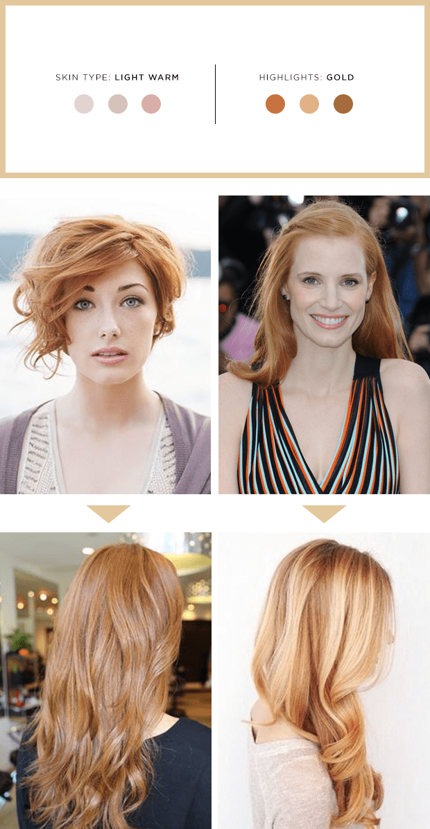The Best Highlights For Your Hair And Skin Tone Verily