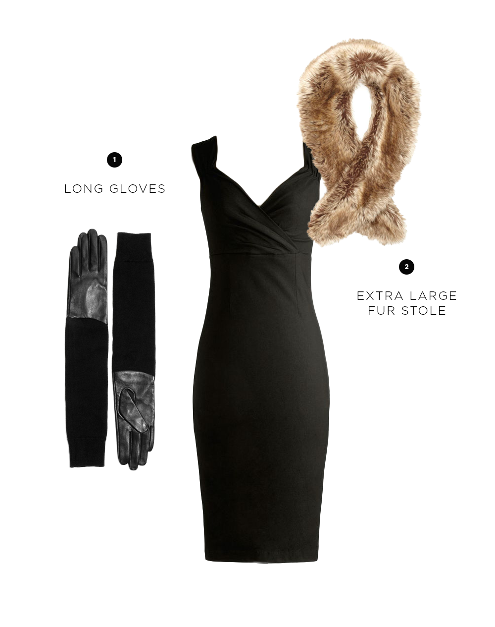 Dress: ModCloth, $90/ 1. & Other Stories, $75/ 2. Wallis, $35