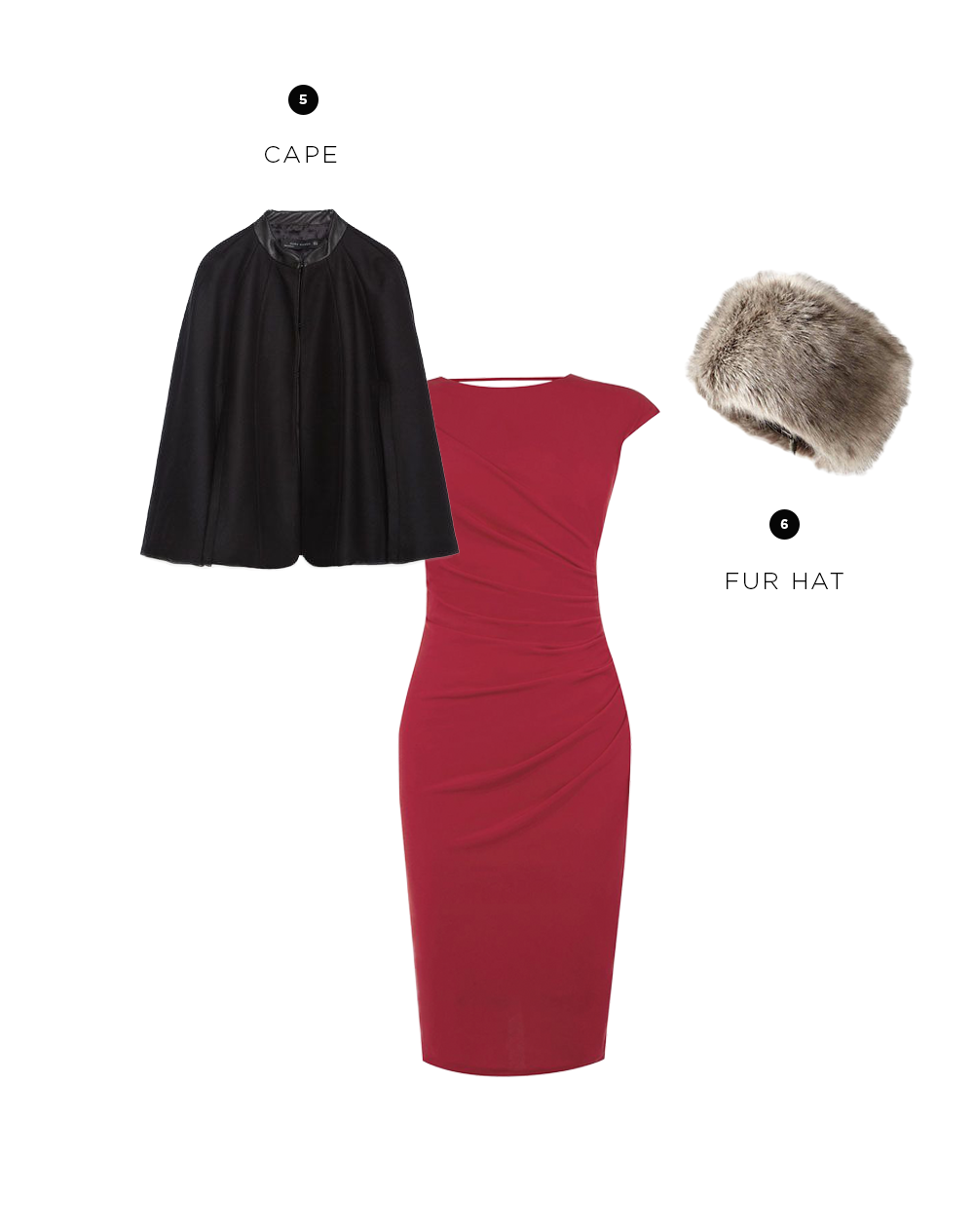Dress: Oasis, $72 / 5. Zara, $149/ 6. Anthropologie, $98