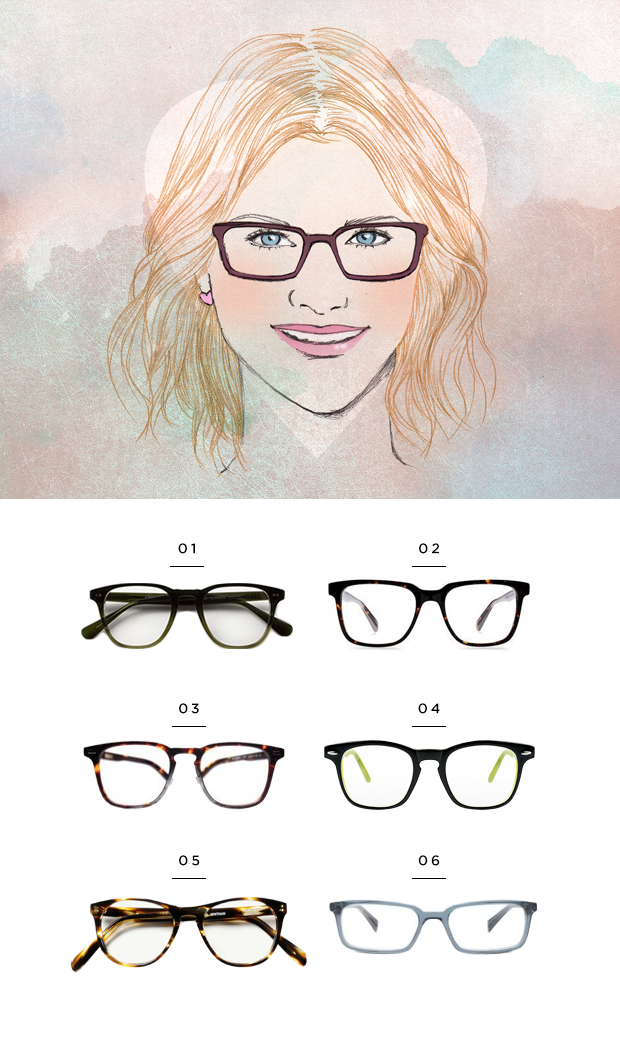 The Most Flattering Glasses for Your Face Shape - Verily