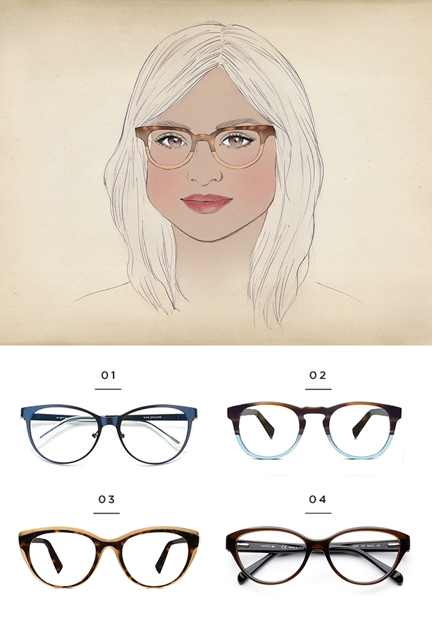 Eyeglass Frames For Pear Shaped Face : The Best Glasses for All Face Shapes - Verily