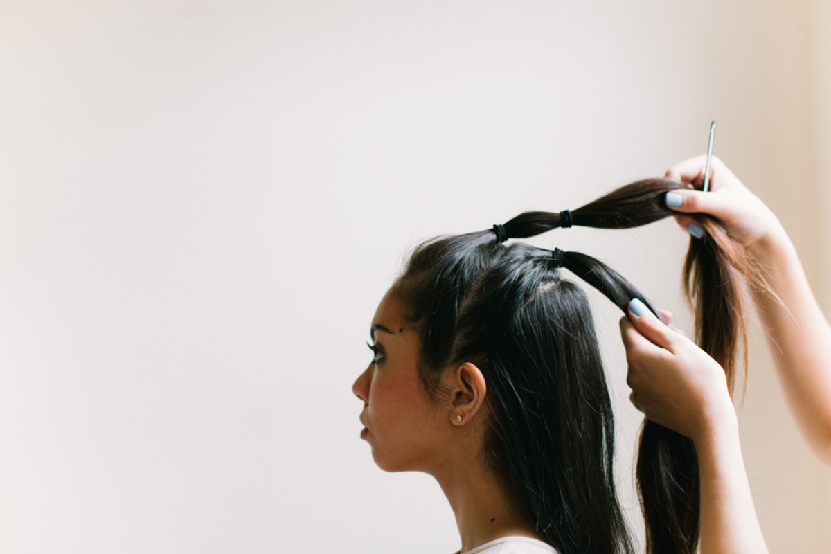 Learn To Do A Feminine And Edgy Fauxhawk Faux Braid Verily