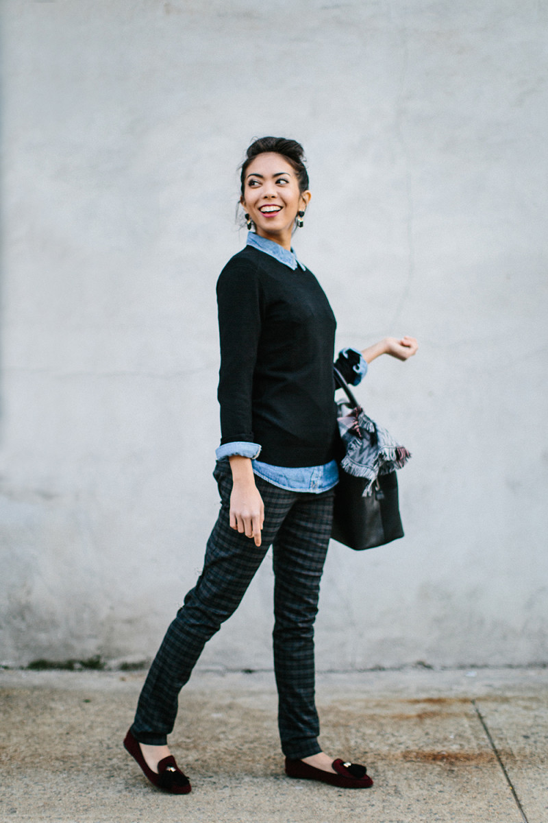 4 Totally Different Ways to Style 1 Classic Black Sweater - Verily