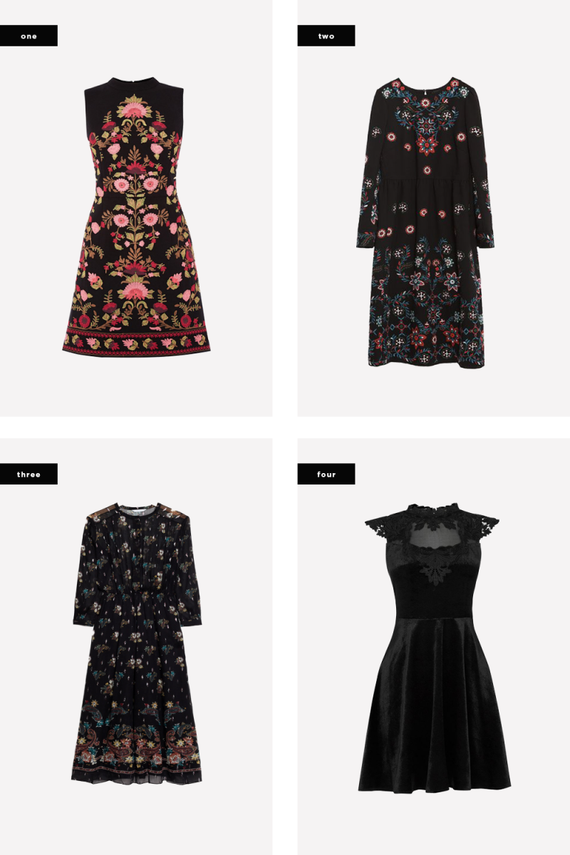 1. Oasis, $120 / 2. Zara, $169 / 3. & Other Stories, $325 / 4. Oasis, $115