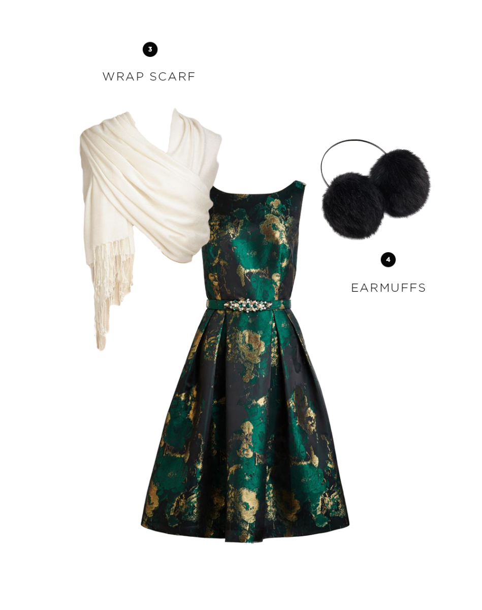 Dress: ModCloth, $240 / 3. World Market, $5 / 4. Ann Taylor, $45
