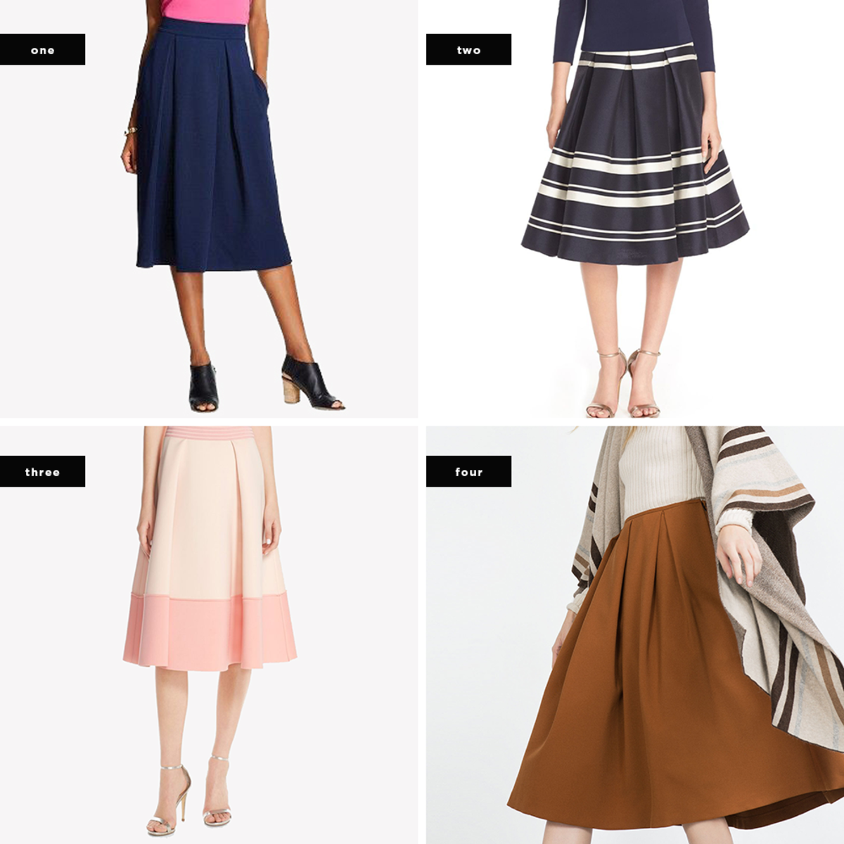 8abaacbd01 Why We Love the Universally Flattering Pleated Skirt - Verily