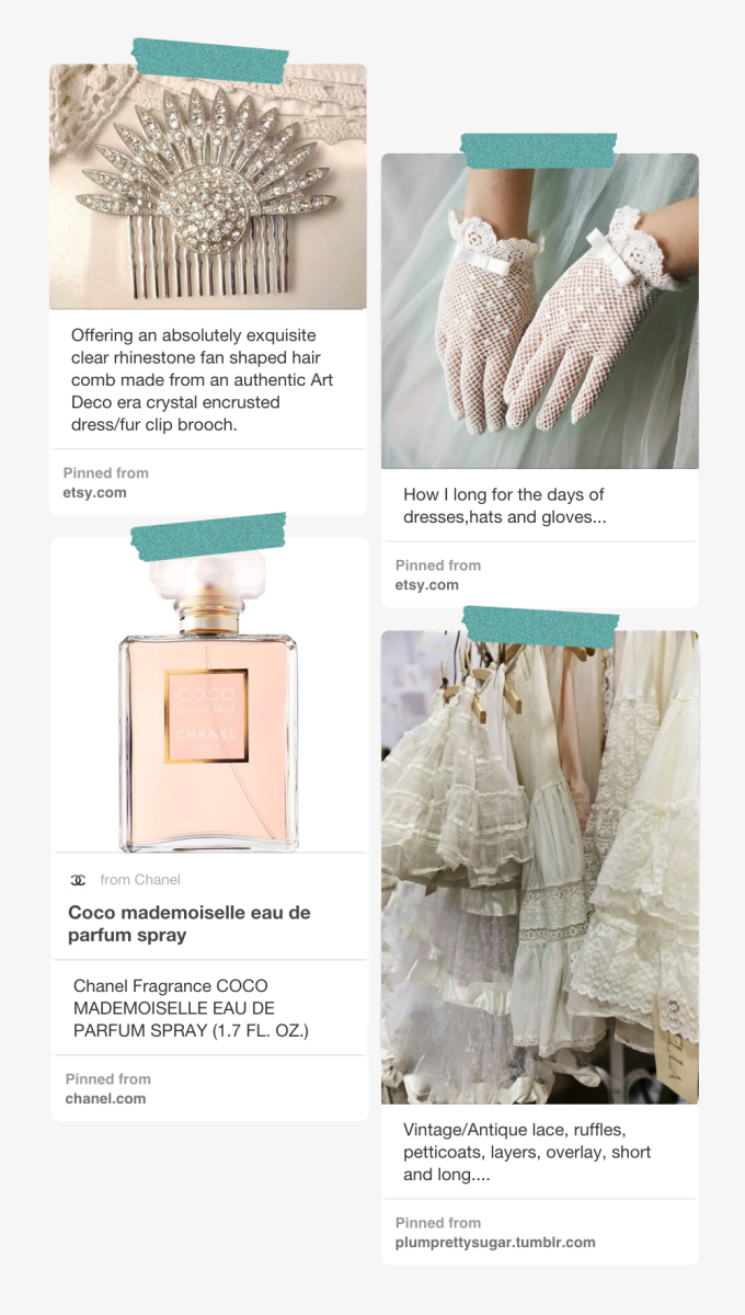 1. AmoreTreasure, $115 / 2. Woolen Dream, $50 (similar) / 3. Coco Mademoiselle, $92 / 4. Etsy