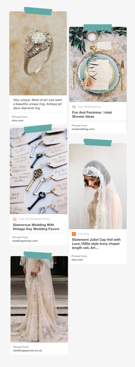 Images via: The Copper Canary / Chic Vintage Brides / Wedding Chicks / Agnes Hart / Wedding Sparrow