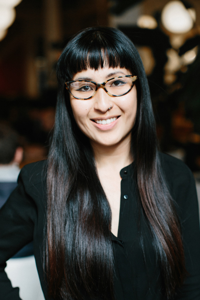 Haruka wears Sedgwick by Classic Specs, $89