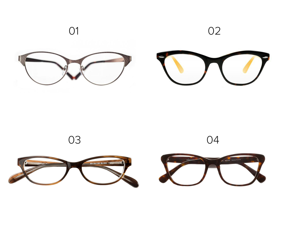 1. Eyefly, $94/ 2. Lookmatic, $99 / 3. Classic Specs glasses, $89 / 4. Classic Specs glasses, $89