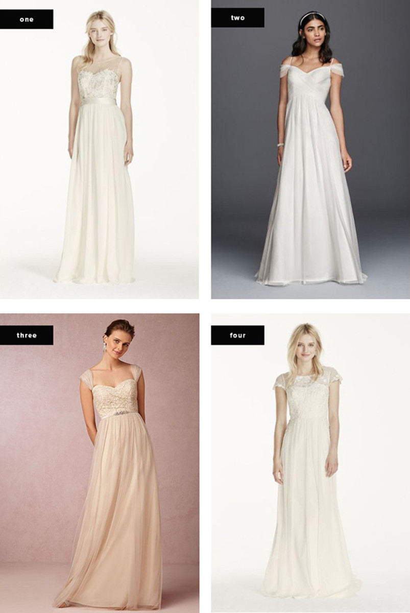 The Most Flattering Wedding Dresses for Your Body Type - Verily
