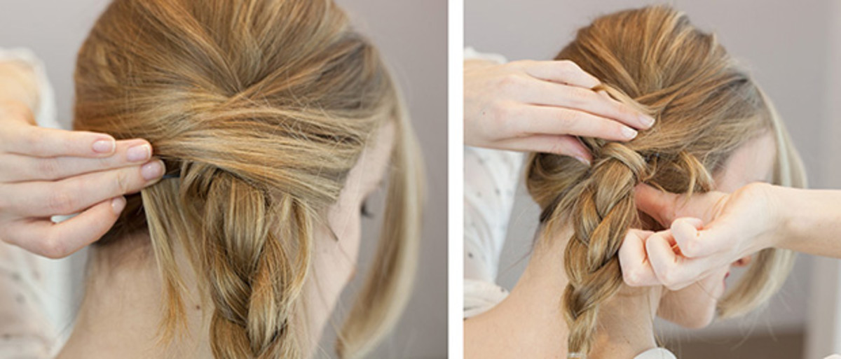 This Beautiful Do It Yourself Bridal Updo Will Simplify Your Big Day