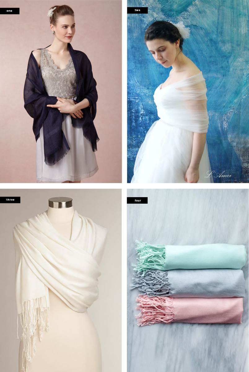 1. BHLDN, $78 / 2. LAmei, $60 / 3. World Market, $10 / 4. Deighan Designs, $10 (each)