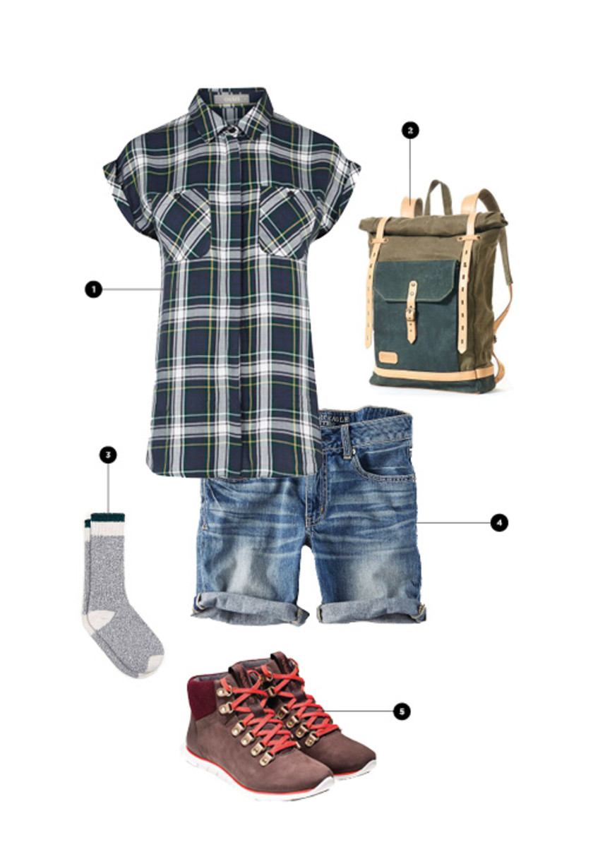 1. Oasis, $62 / 2. Innes Bags, $175+ / 3. American Apparel, $14 / 4. American Eagle Outfitters, $45 / 5. Cole Haan, $170