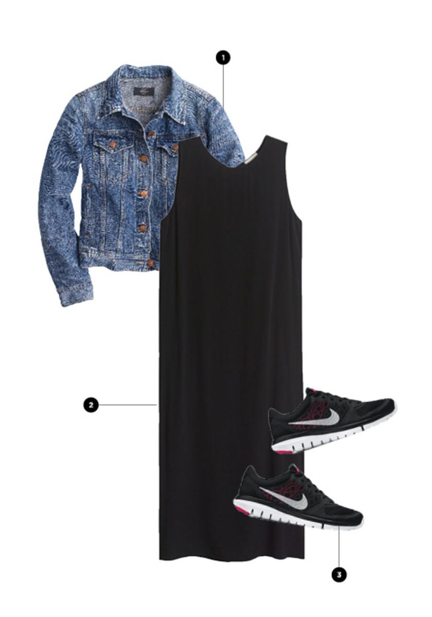 1. J.Crew, $128 / 2. Aritzia, $75 / 3. Nike, $70