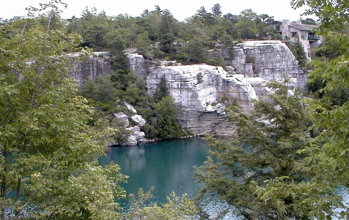 Lake Minnewaska, Minnewaska State Park Preserve, New York