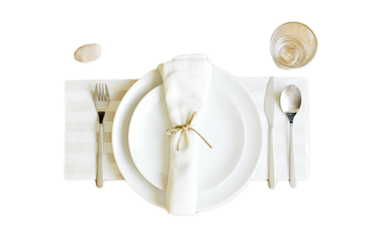 Verily_ DIY Table Settings Twine