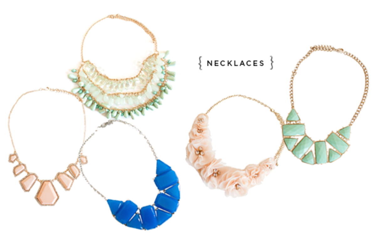 Verily_Summer Necklaces