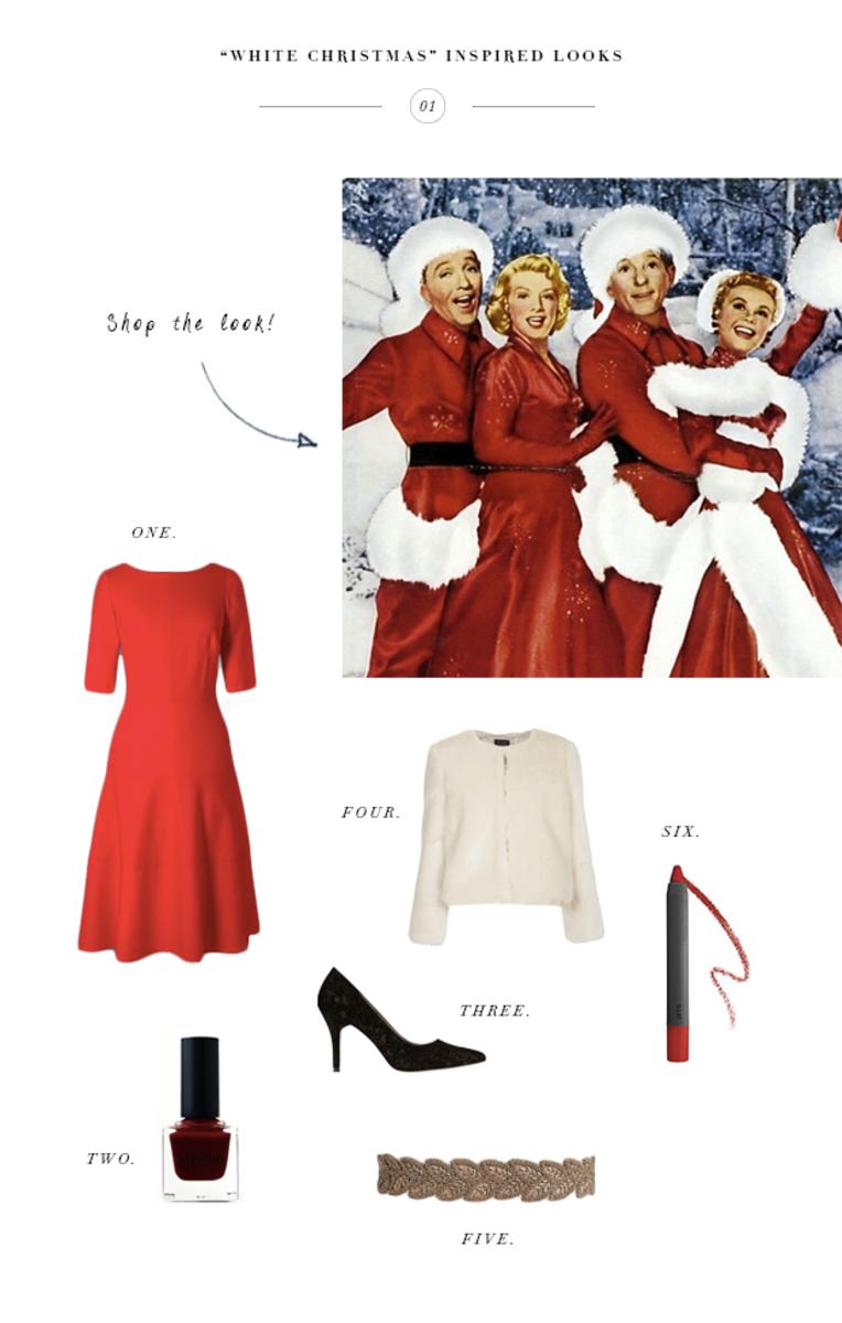 2 Elegant \'White Christmas\' Inspired Looks For the Holidays - Verily