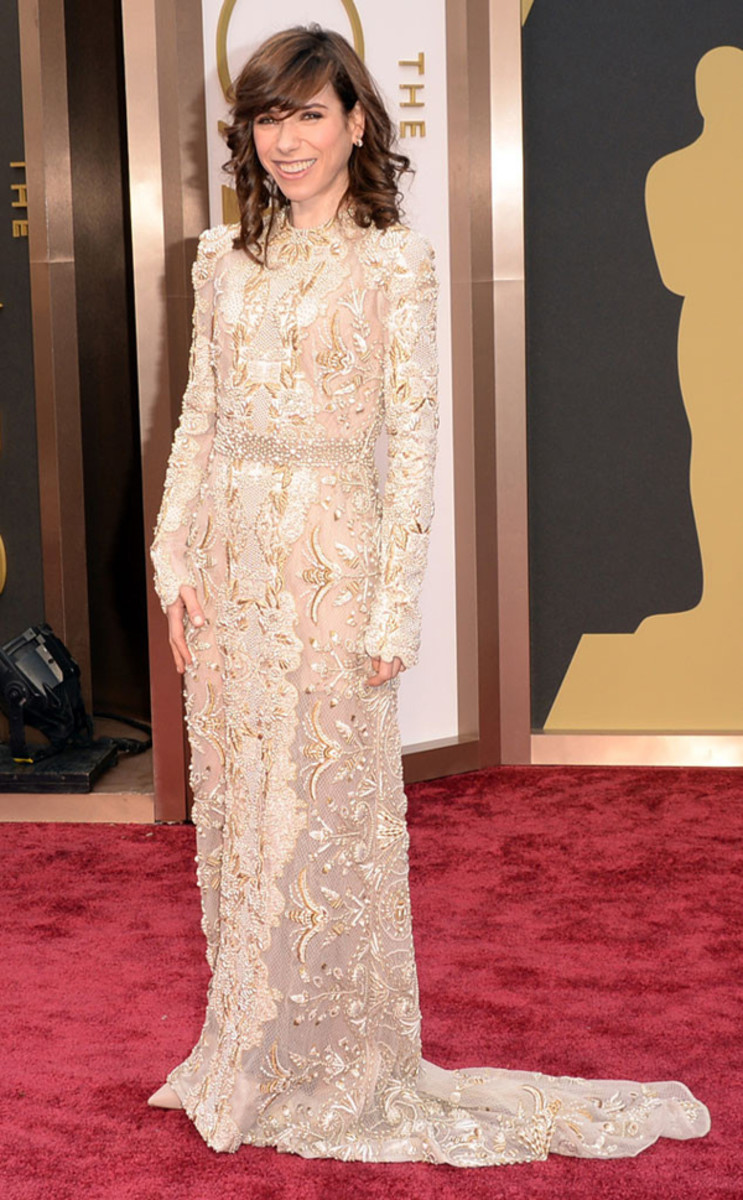 Sally Hawkins in Valentino