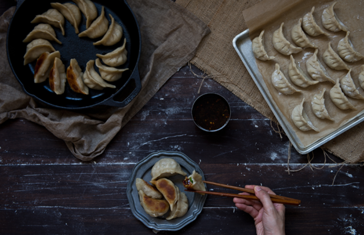 dumpling recipe, potstickers