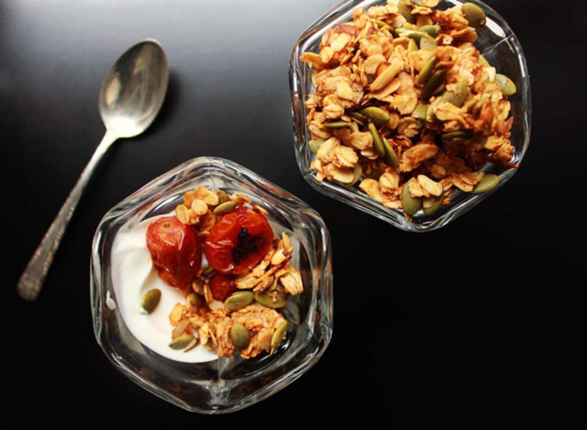 breakfast ideas, granola recipe, healthy eating
