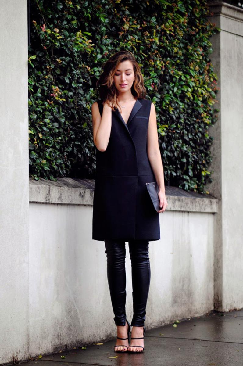 tuxedo-dress