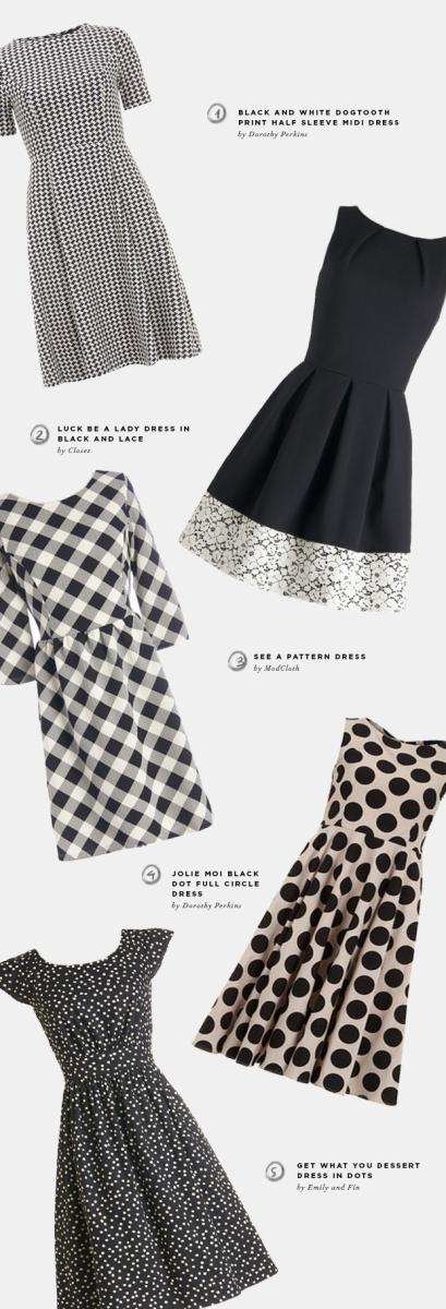 retro-dresses-black-white
