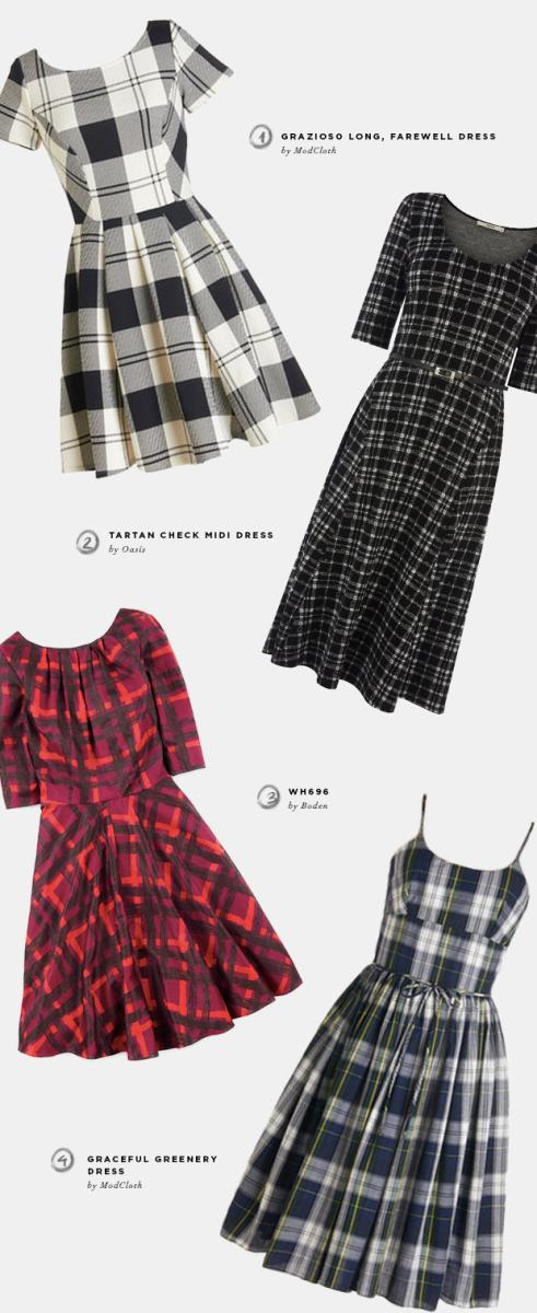 retro-dresses-plaid