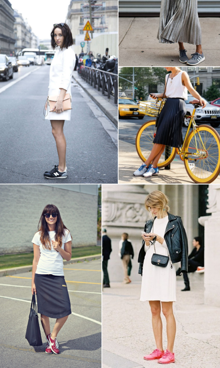 sneakers-dress
