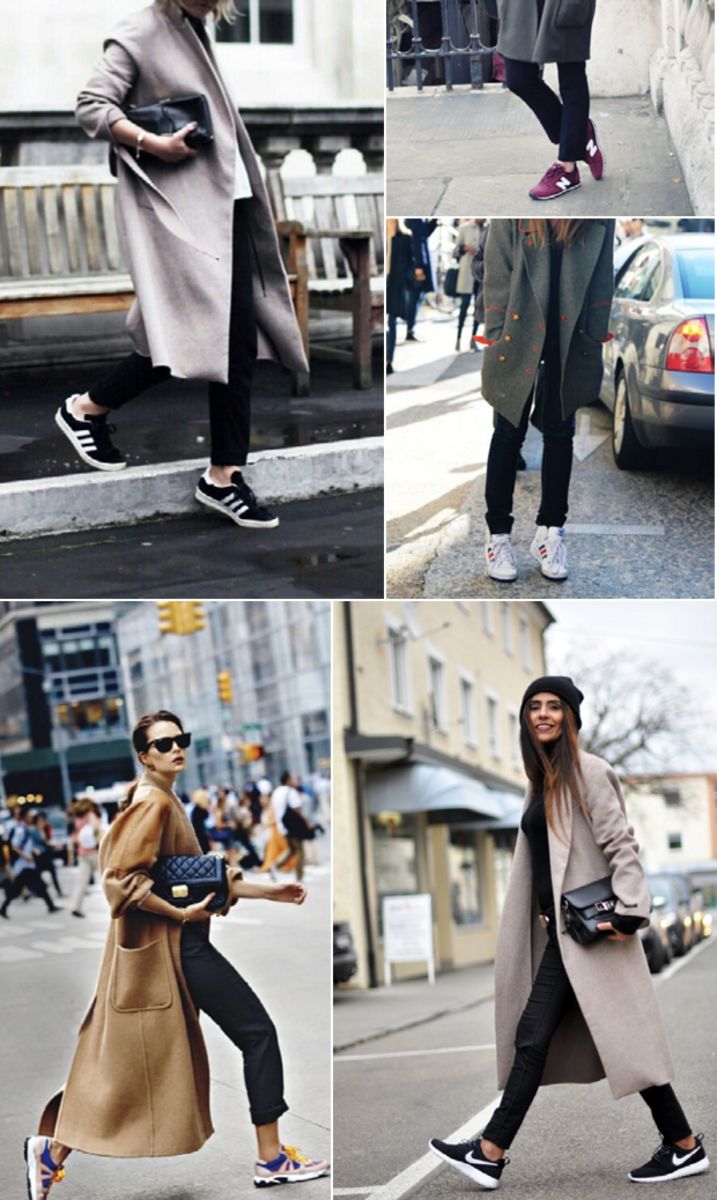sneakers-overcoat