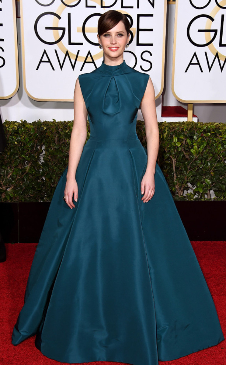 Felicity Jones in Christian Dior