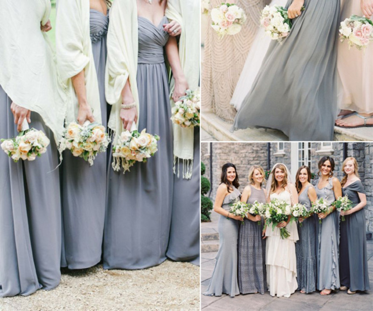 Our favorite bridesmaid dress trends for 2015 verily its the perfect blank slatea background a neutral of sorts that virtually goes with any color scheme you choose its also an easy dress to have your ombrellifo Images