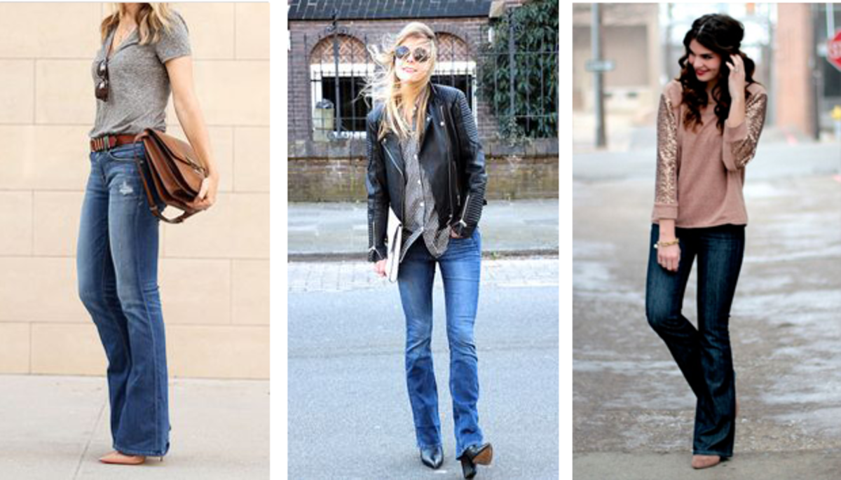 Find Out Which Flared Jeans Work Best for Your Body Shape - Verily