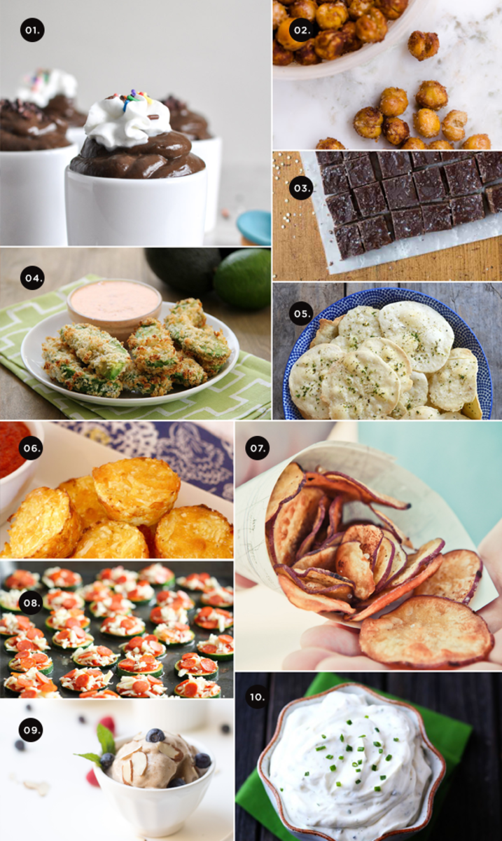 healthy eating, snack recipes