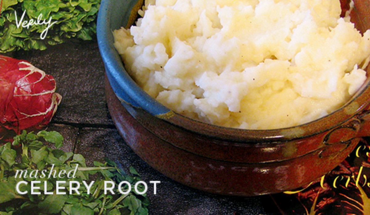 Verily Magazine Mashed Celery Root