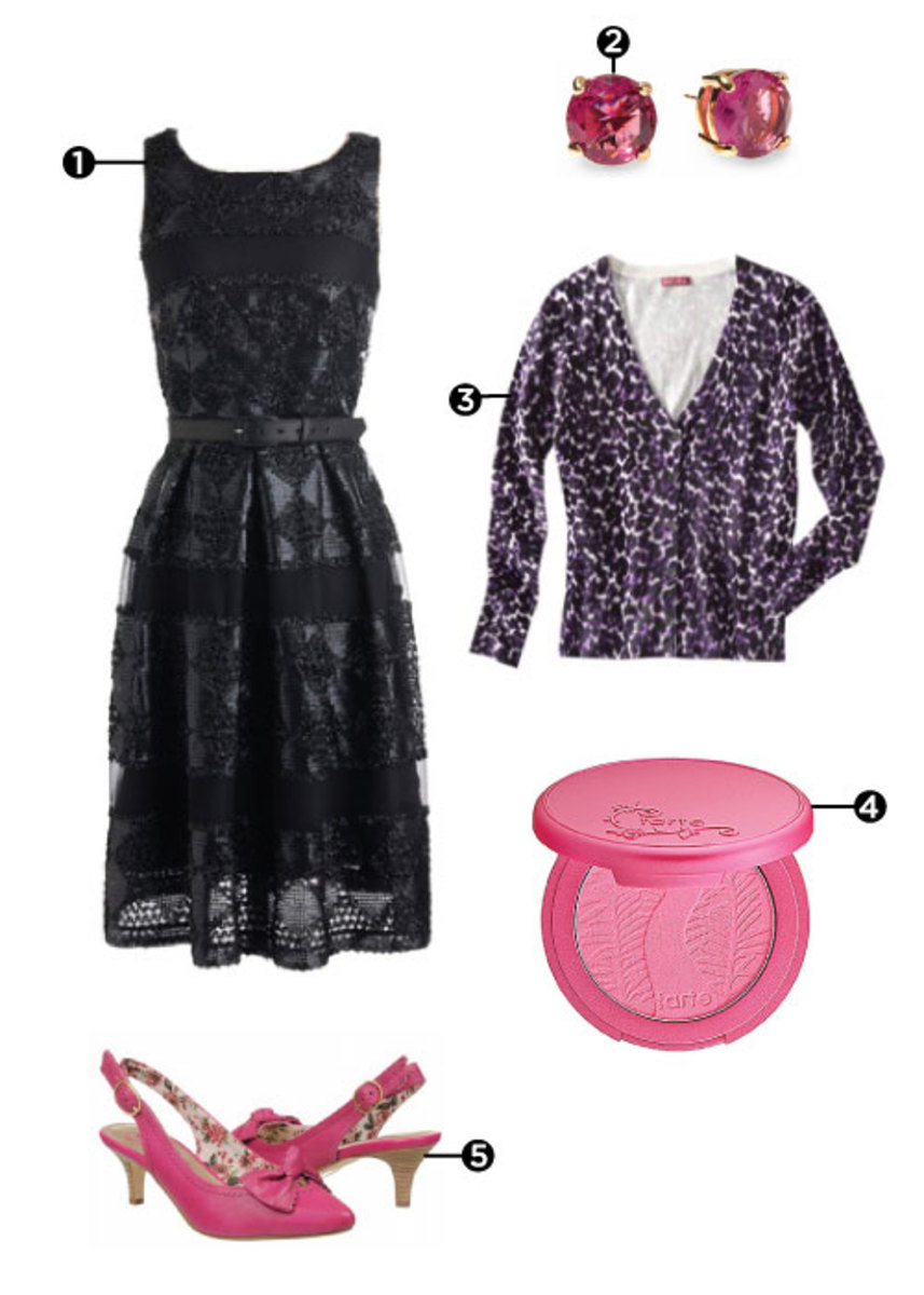 Pink-and-Black