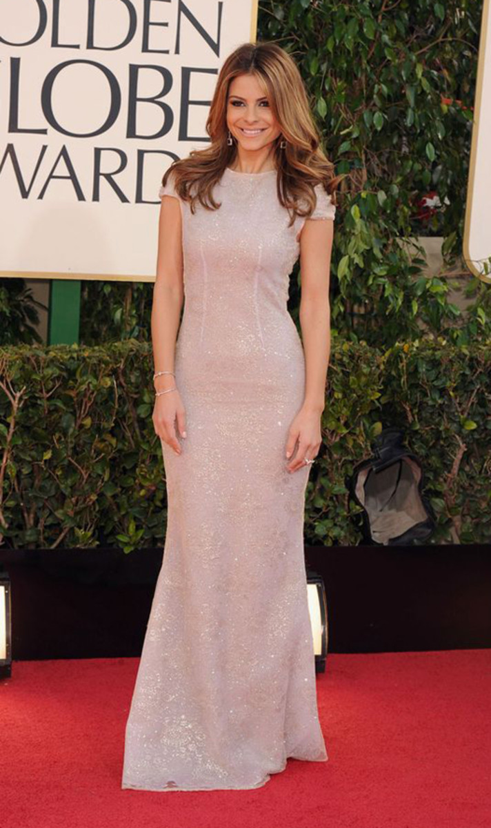 Maria+Menounos+arrives+for+the+Golden+Globe+Awards