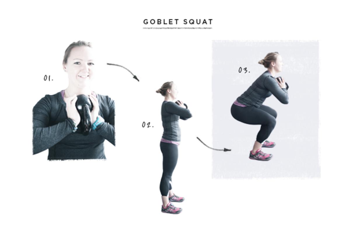 fitness, kettlebell exercises