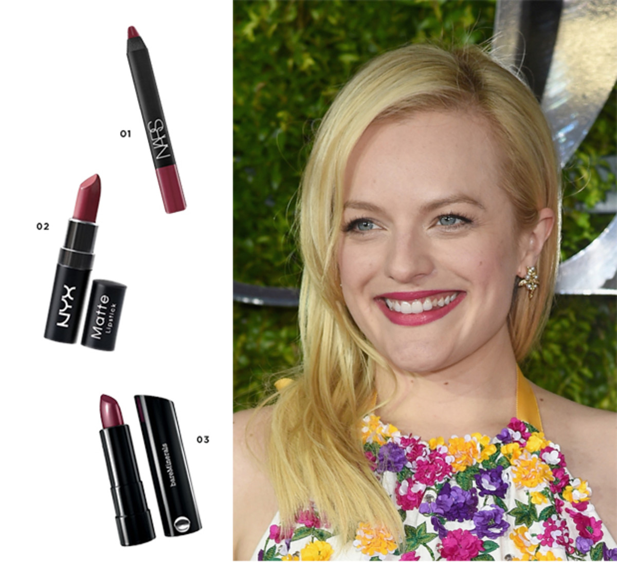 1. NARS, $26 / 2. NYX, $6 / 3. bareMinerals, $18     Photo: Getty Images