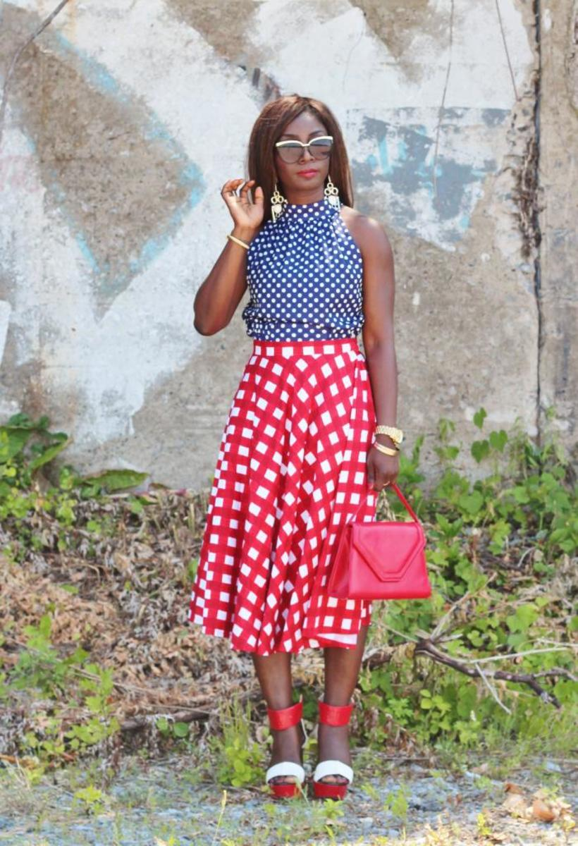 fourth of july americana style inspiration summer holiday outfit ideas