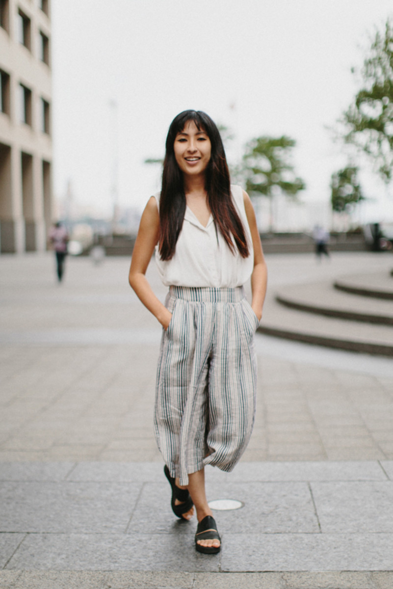 how to wear culottes style trends summer 2015 outfit inspiration