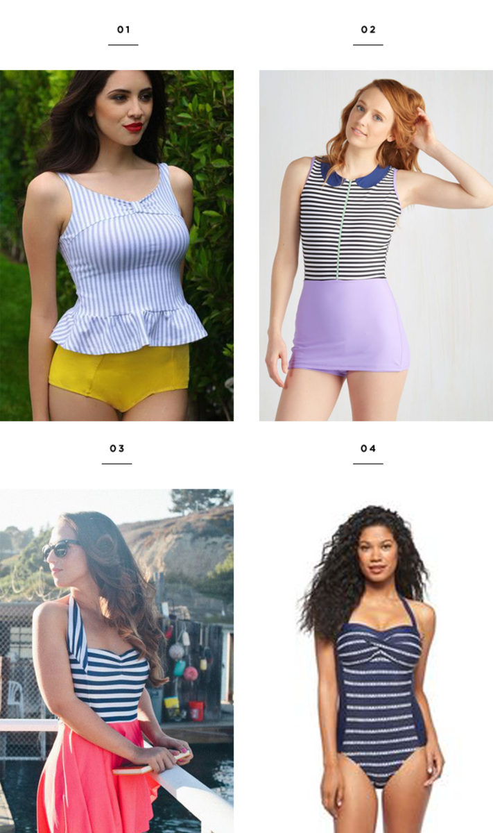 summer bathing suit styles for your body shape flattering swimwear