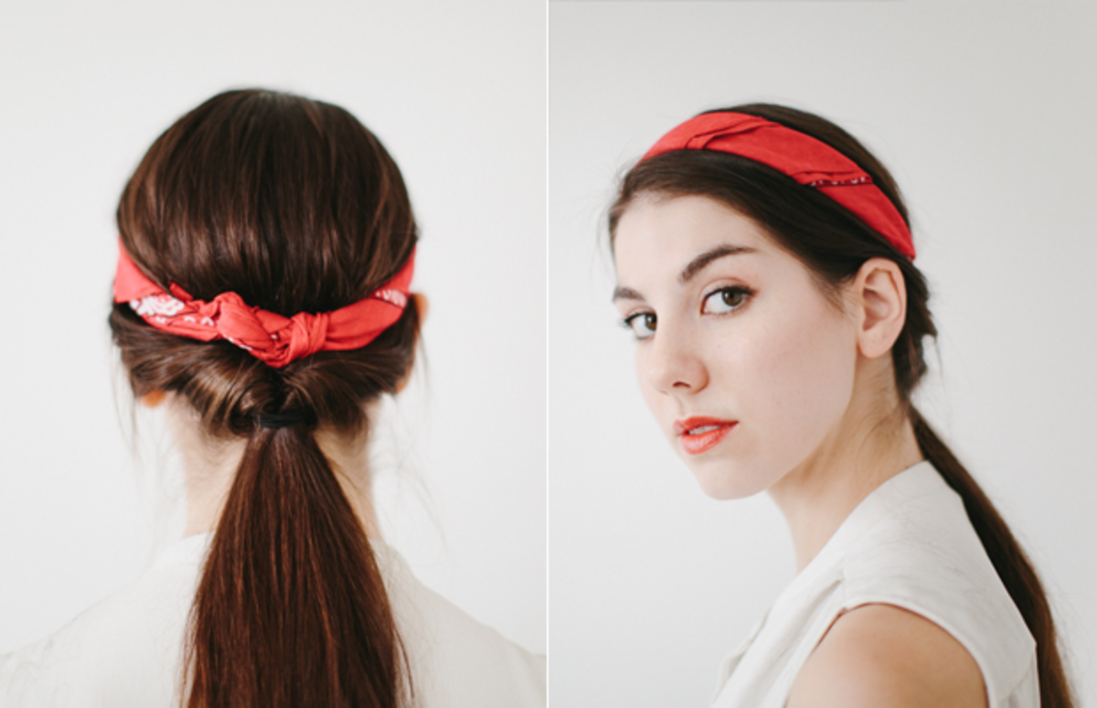 Bandana Trend How To Tie A Headscarf Style Inspiration Accessories