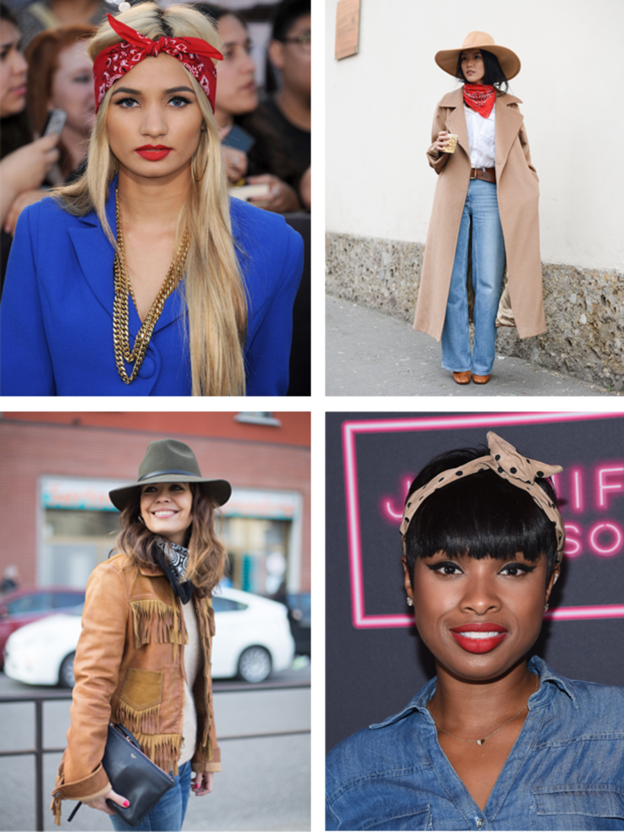 Seven Ways One Bandana Can Transform Your Outfit Verily