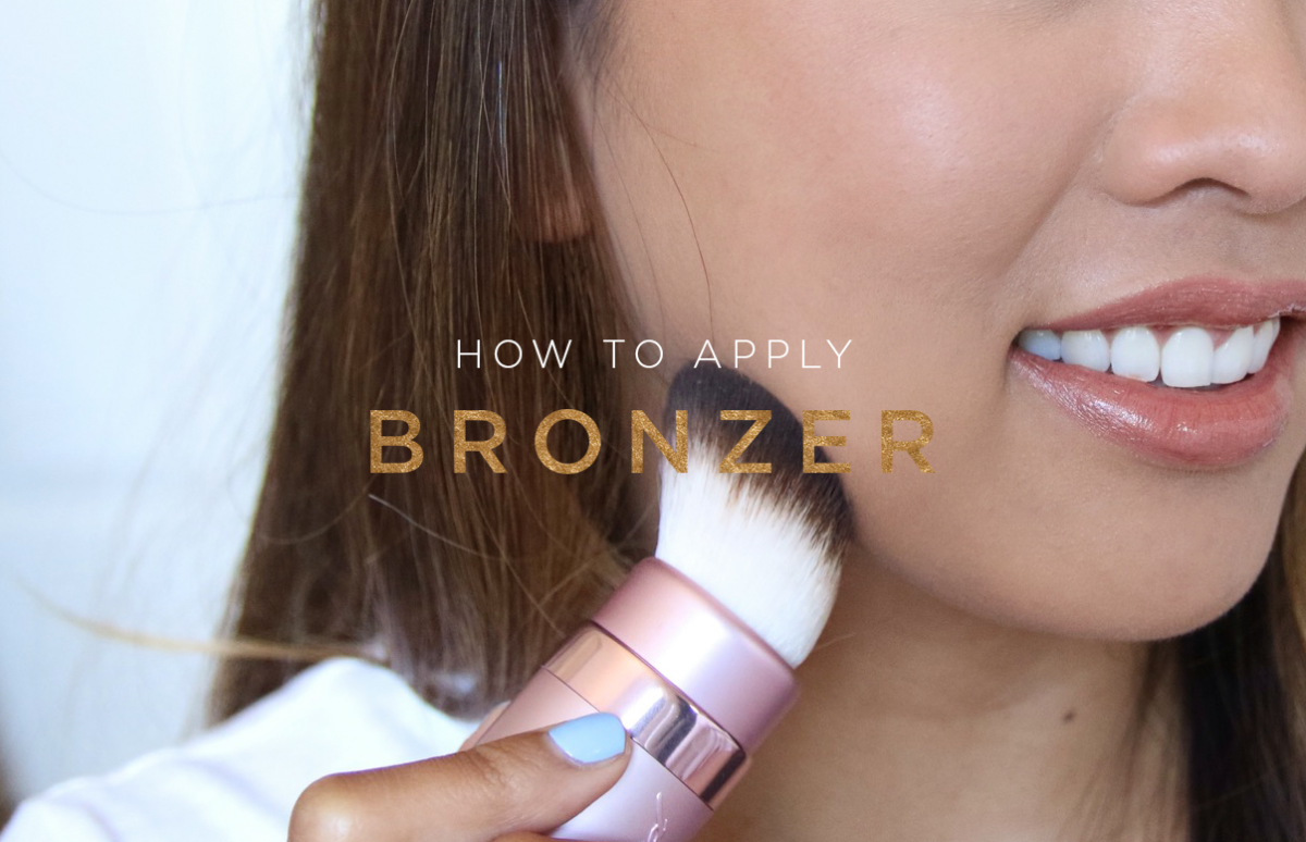 how to apply bronzer natural beauty tutorials sun kissed glow contouring makeup
