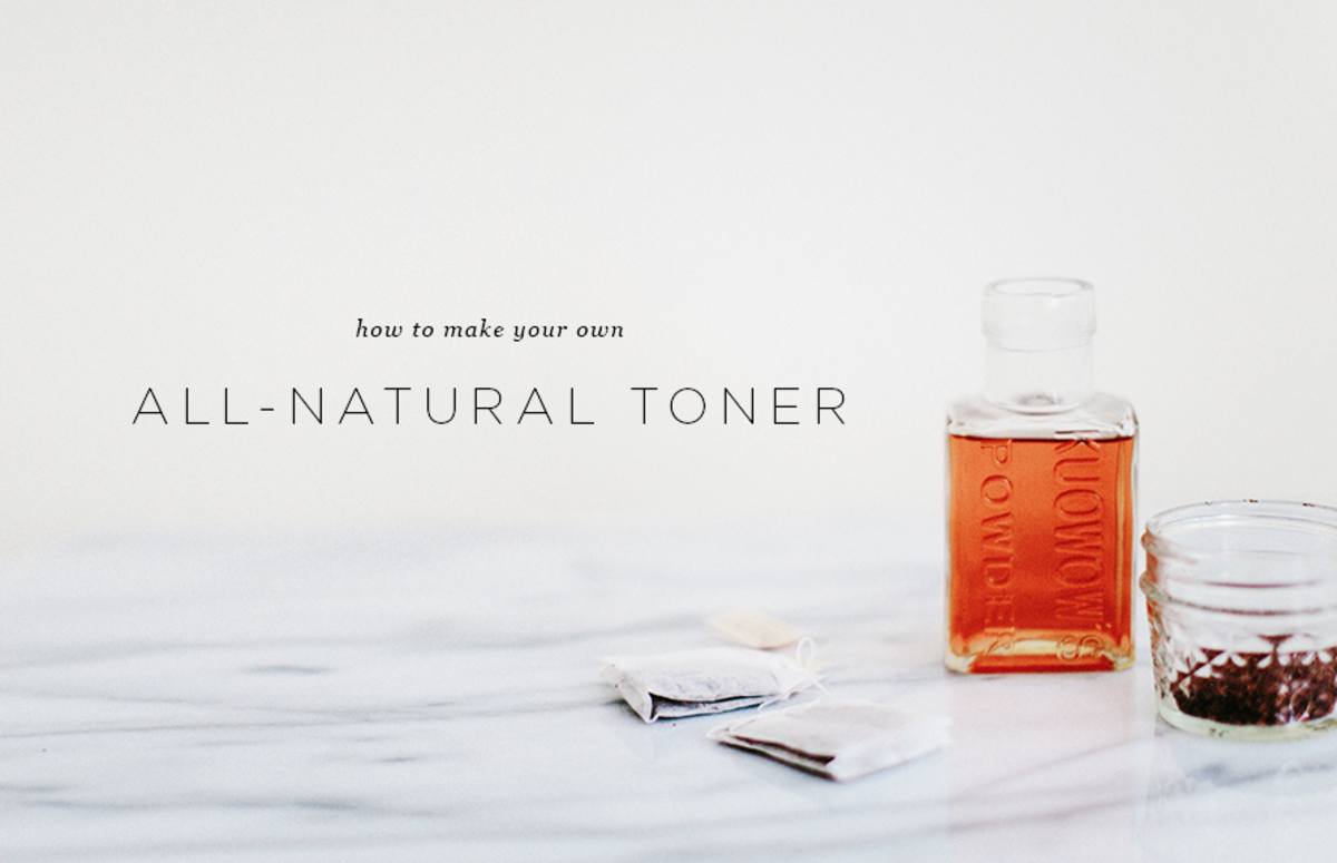diy toner recipe natural beauty skin types acne prone skin