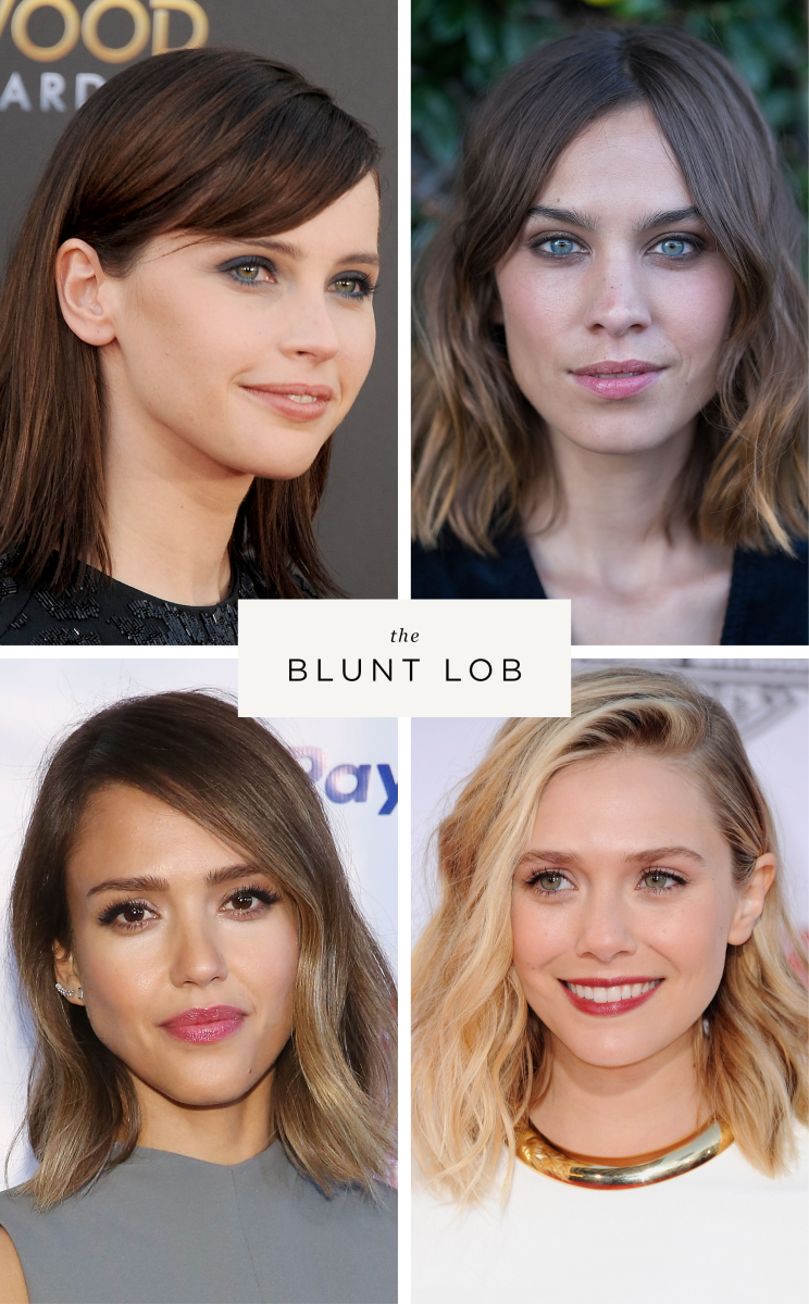 celebrity haircuts long bobs blunt bobs lobs on trend fall haircuts hair inspiration fine hair beauty style