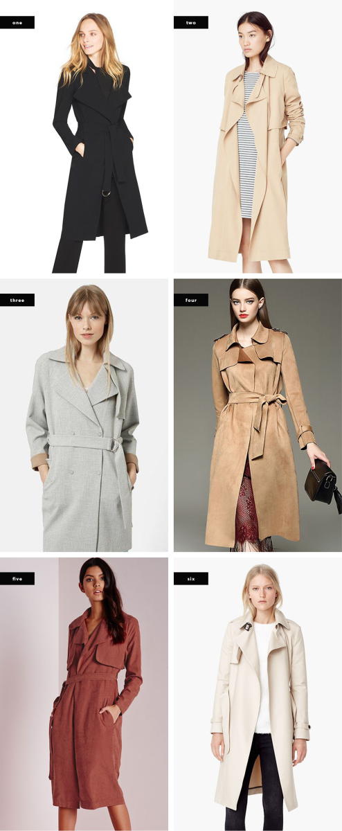 fall trench coats tailored coats outerwear style trends fall 2015 belted trench coat