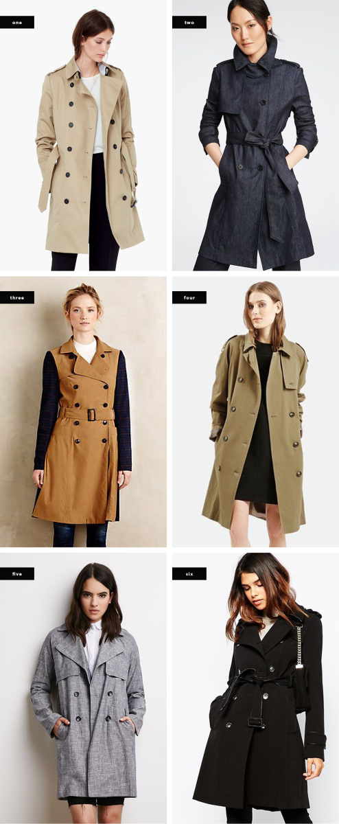 double breasted trench coat fall trench coats tailored coats outerwear style trends fall 2015